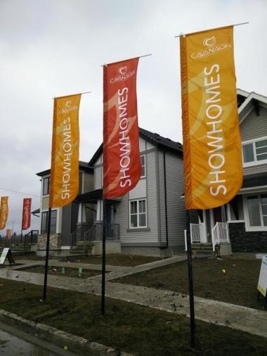 Edmonton Rototop flags