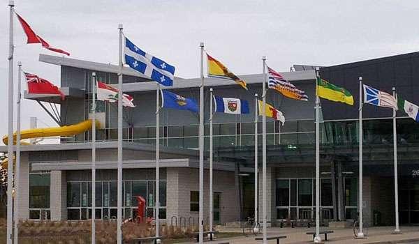 aluminium flagpoles