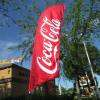 Coca cola feather flags