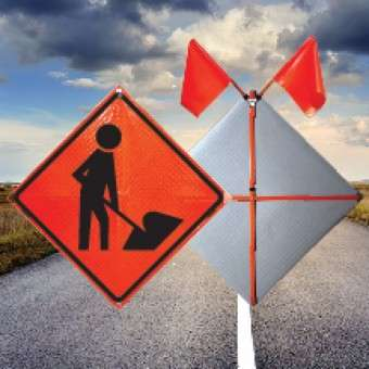 Bonnyville Construction Signs