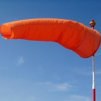 International Orange Aviator windsocks