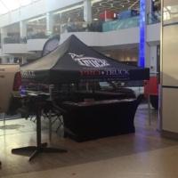 Canopy tent tradeshow display Edmonton