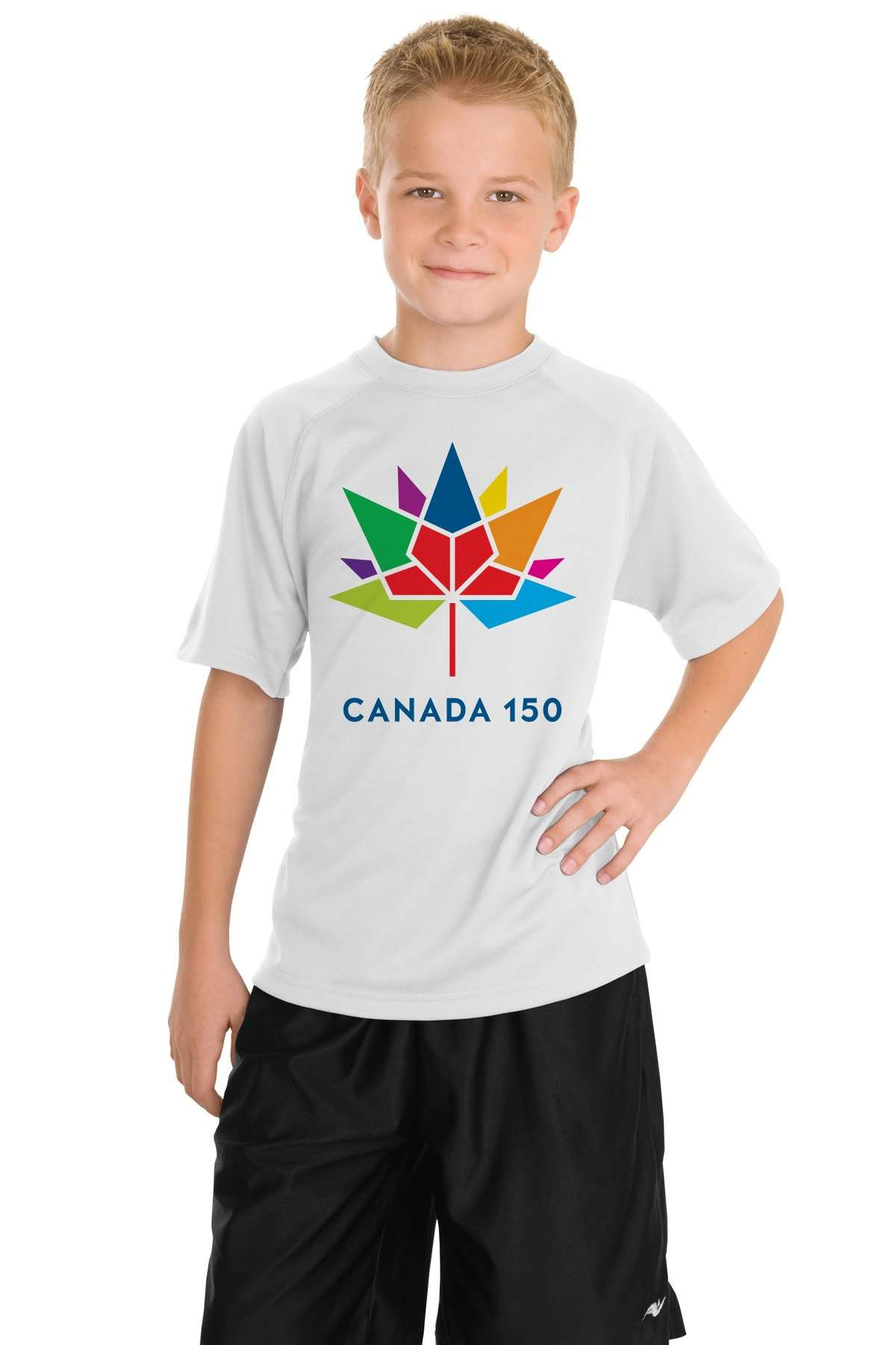 Canada 150 t shirt aurora flags banners inc for Custom t shirts edmonton