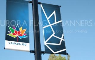 Canada 150 Street Pole Banners
