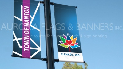 Canada 150 banners