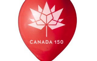 Canada 150 balloons for sale
