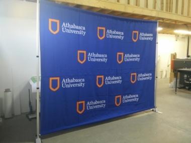 tradeshow display banner edmonton