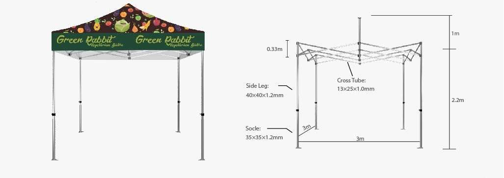 Canopy Tent Hardware 10'x10'