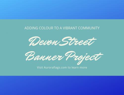 Case Study: Street Banners Add Vibrancy in Devon Alberta