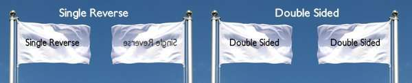 Double Sided Vs Single Reverse Flags