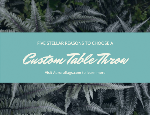 Five Reasons Why a Custom Table Throw Will Make You Look Pro